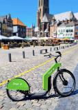 Citysteps begint met test elektrische deelstep in Roermond